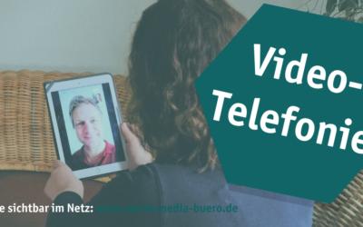 In Kontakt bleiben über Videotelefonie