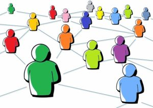 Grafik: Content-Marketing erreicht Menschen in sozialen Netzwerken